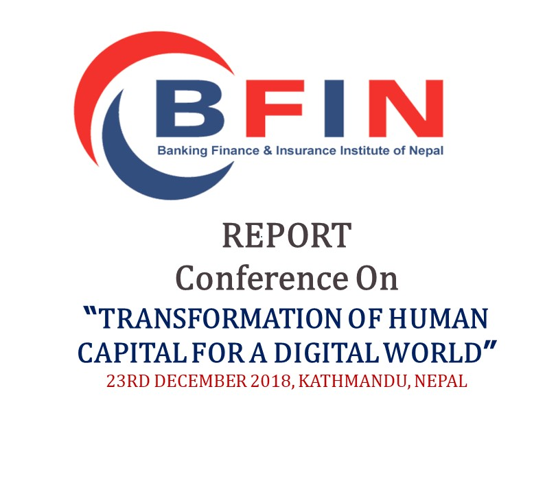 REPORT OF TRANSFORMATION OF HUMAN CAPITAL FOR A DIGITAL WORLD