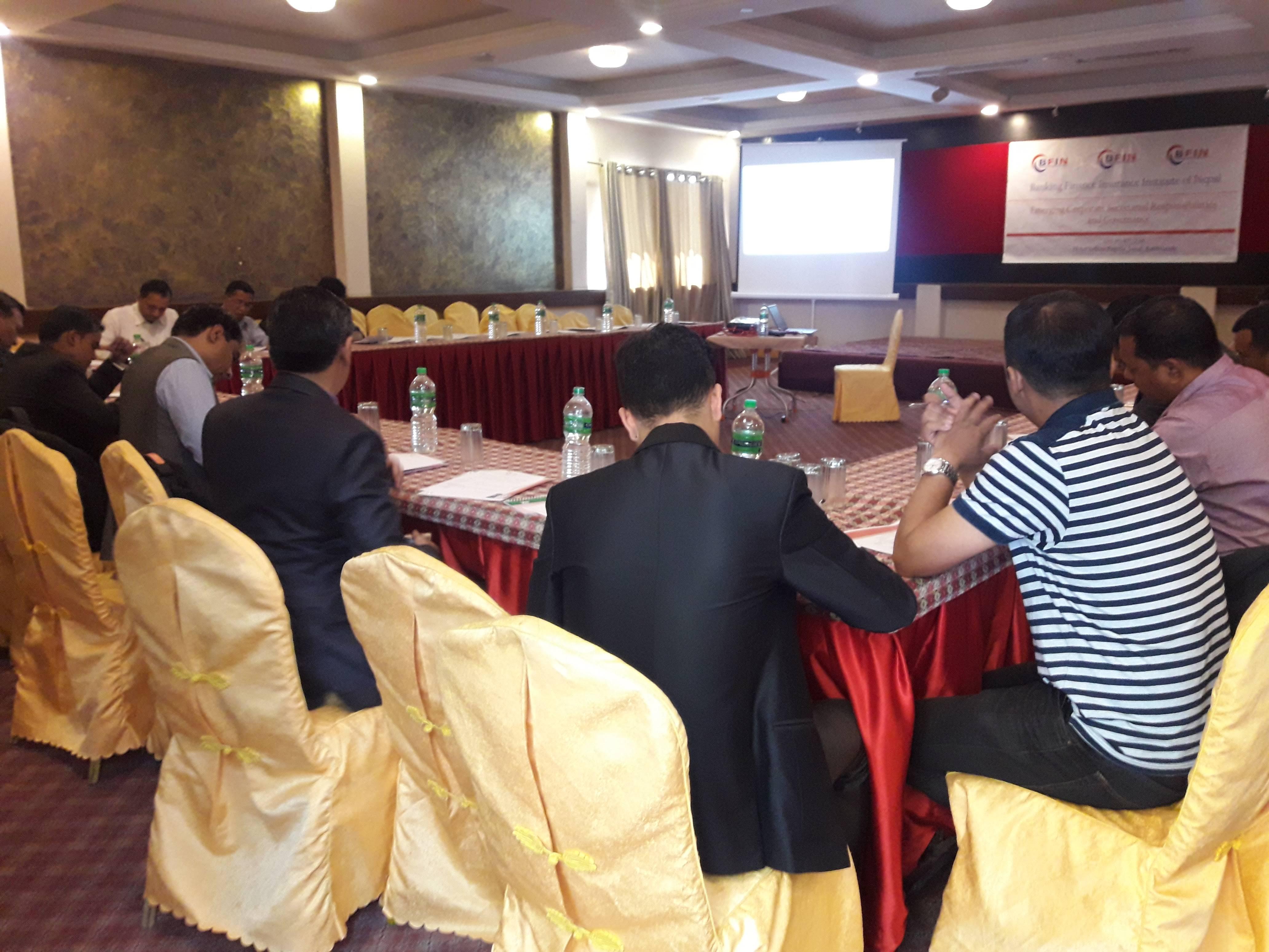 Corporate Secretarial Training, Oct 2018